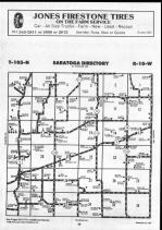 Saratoga T105N-R10W, Winona County 1990 Published By Farm and Home Publishers, LTD